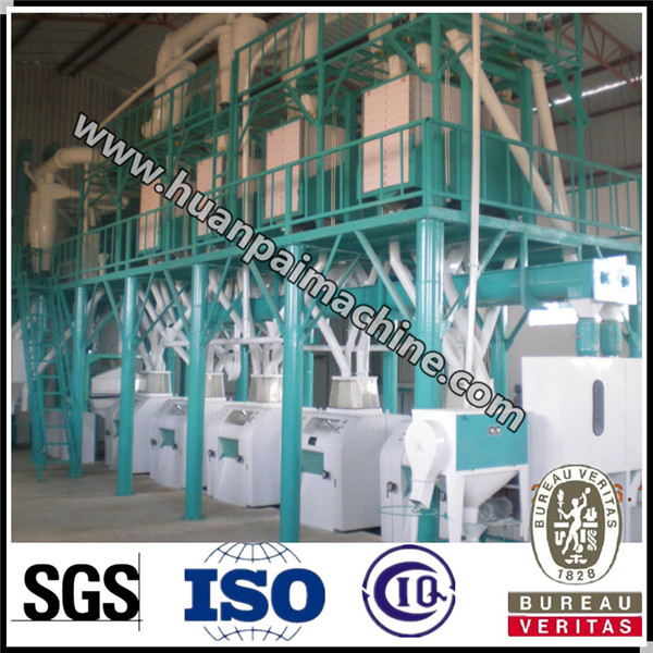 50 ton wheat flour processing plant