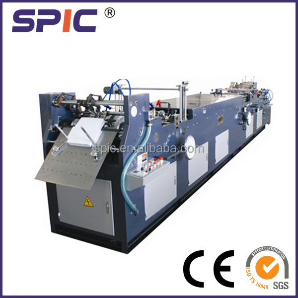 Automatic envelope folding machine for pocket type