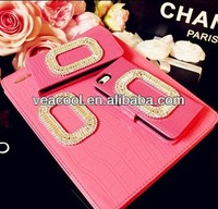 Croco Diamond Leather Stand Case Cover for iPad Air Case iPad 5 5th Gen Case