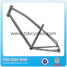 rohloff titanium frame with SZ 44mm Integrated head tube for Gates carbon belt drive system TSB-HIR1401