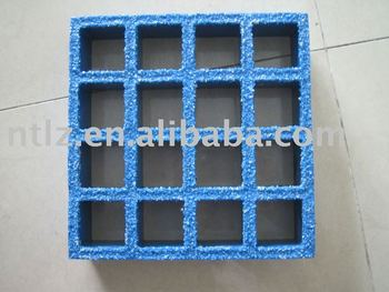 Blue color FRP Chemical Resistance Light Weight Corrosion Resistant FRP Fiberglass Reinforced Plastic Flooring Gratings