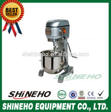 commercial planetary mixer, dough kneading/cream mixing beating machine