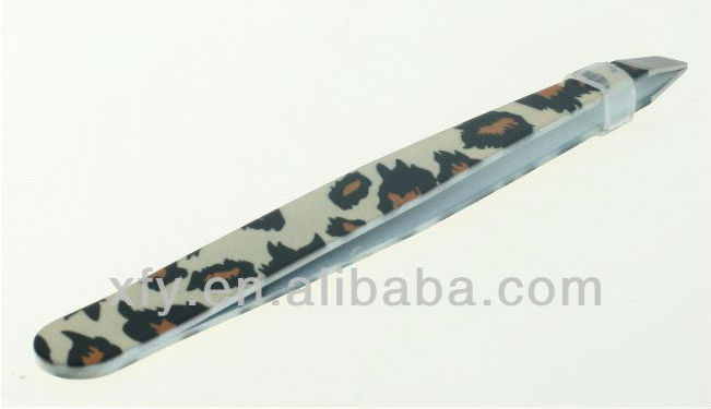 2014New Eyebrow Tweezers SLANTED Precision Tip