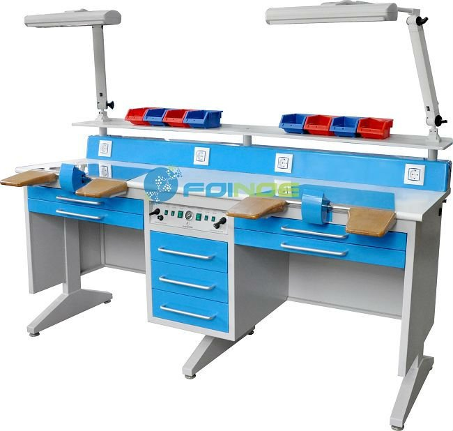 dental lab equipments (Model:Workstation (double) EM-LT6)(CE approved)