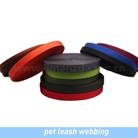 nylon webbing pet leash webbing/dog collar webbing/dog leash webbing