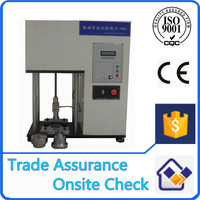 Safety shoes puncture compression testing machine