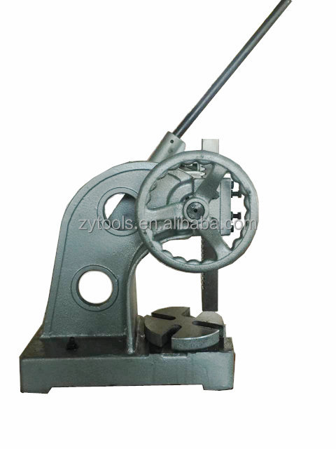 Ratchet Wheel Type Arbor Press
