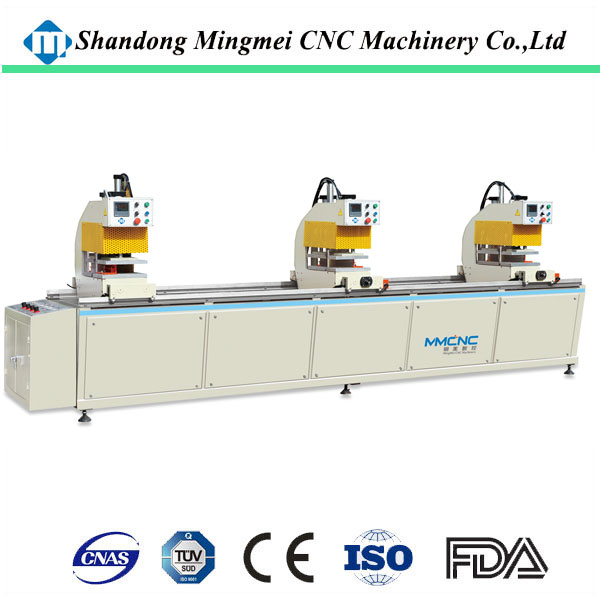 arbitary angel welding upvc window and door production line