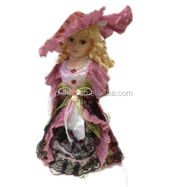 High Quality Hot Selling Mixed 6 Colour together Classic <strong>Doll</strong> 16""