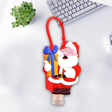 Disney audit gifts factory santa silicone sanitizer holder custom promotional christmas trinkets