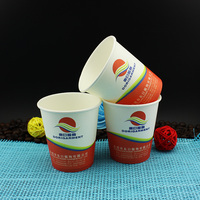 single wall style disposable 200ml 7oz hot coffee paper cup