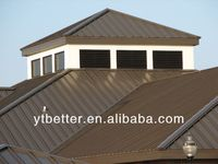 precision and beautiful arched metal roof