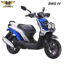 BWS IV TBS TTX 150cc gasoline scooter made by taizhou company JNEN with double LED lights in front cover big tire with EEC