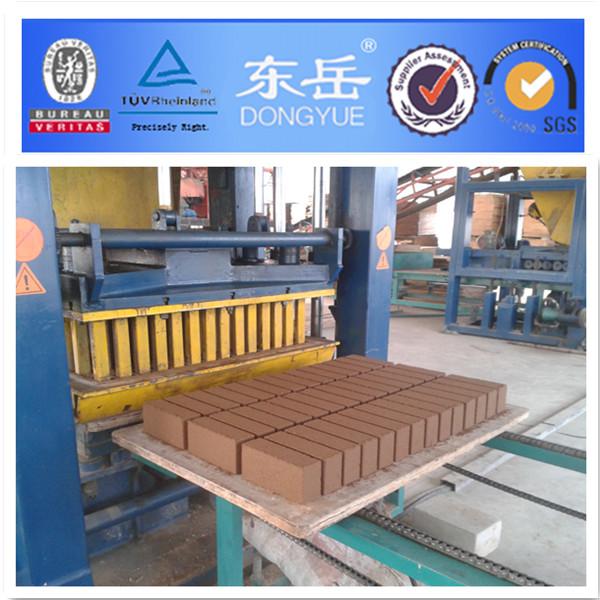 Red Sand Brick Machine And Brick Making Machine Qt6-15 Dongyue ...