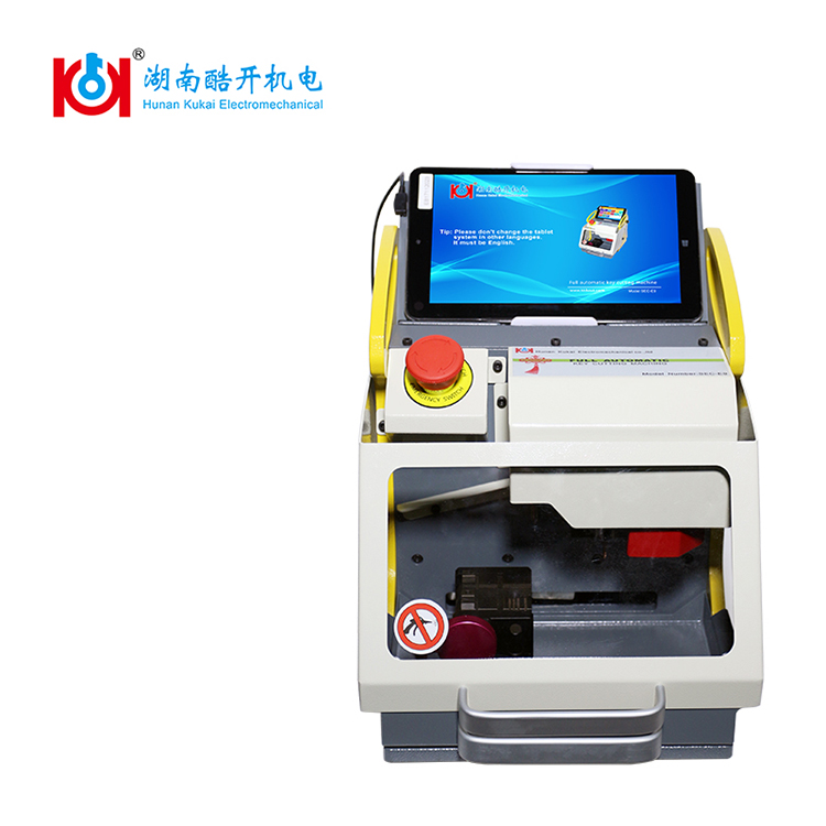 New Version SEC-E9 automatic key cutting machine best locksmith tools with fast shipping and <strong>CE</strong> approved