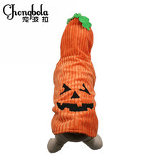 Wholesale Hallowmas Pumpkin Dog Costume, Pet Coat