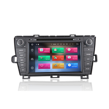 KiriNavi WC-TP8004L 8 core android 6.0 car gps navigation for toyota prius LHD car radio player 2009 - 2015 BT 4G WIFI