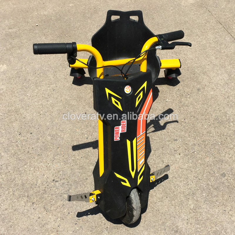 Yellow Color 350V 12V Electric Powerful Drifting Scooter with CE certificates