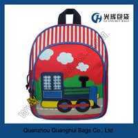 Red Train Truck Toddler Backpacks
