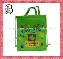 2014 promotion non-woven drawstring bag