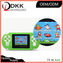 Price Cheap 2.5 inch color screen handheld game console for kids and friends game hunting electric shock game