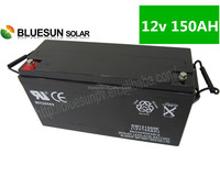 rechargeable storage batteries for solar system AGM 12v 150AH