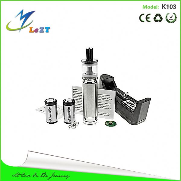 Rohs stainless material electronic cigarette X8 atomizer kamry k103 mod