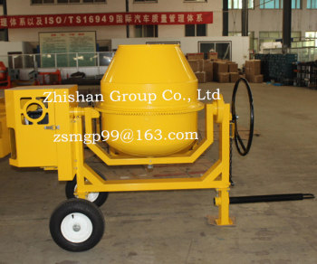 CM350(CM50-CM800) Electric Gasoline Diesel Towable Concrete Mixer 350L