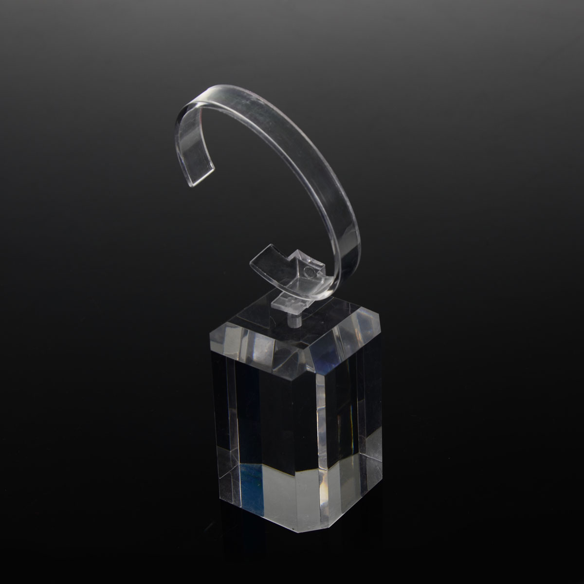 Latest stackable c clip acrylic watch display