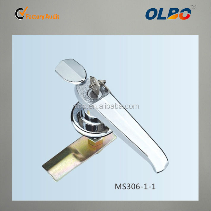 CE approved industrial door handles and locks MS306-1