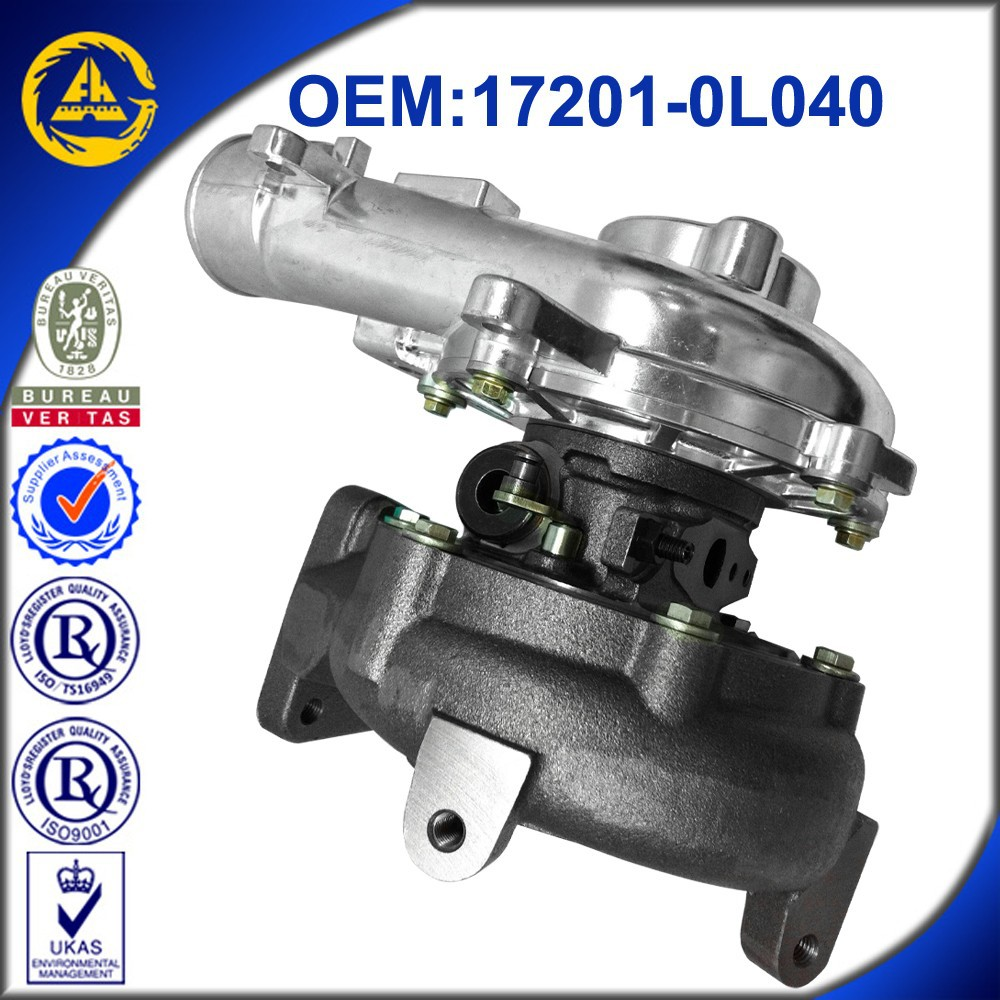 CT26V 172010l040 turbo for v8 diesel toyota land cruiser pickup