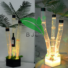 color changing led light mini glowing plant used home bar furniture