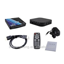 Android tv box Quad Core A9 1.6GHz RAM 1GB ROM 8GB Android 4.2 Wifi Bluetooth With with Remote Control