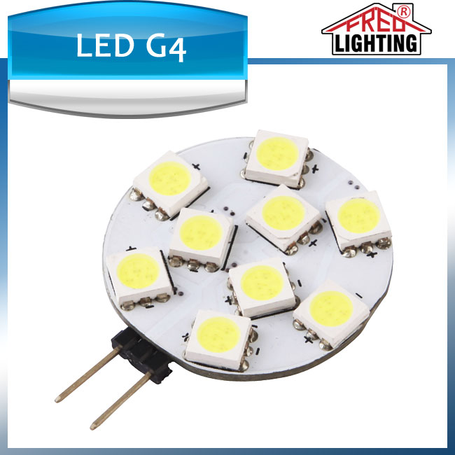 G4 led 1.5W DC12V led bulb high power led G4 bulb light with CE RoHS approved 9-28VDC 9-18VAC g4 led ceiling lamp