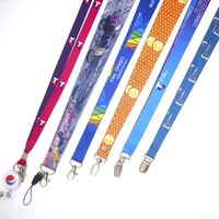 Best Selling Screen Printing Logo Plastic Materials High Quality Lanyards For Sale