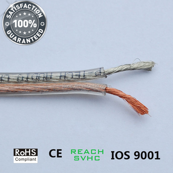 Transparent Speaker Cable 20 m 100m 305 m