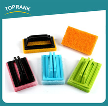 Toprank Factory Direct Wholesale Kitchen Usage Sponge Washing Dishes Kitchen Abrasive Scouring Pad Dish Washing Sponge
