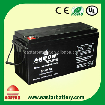 sla battery vrla 12v150ah
