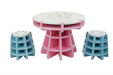 Eva foam table and chair set kids fun playing