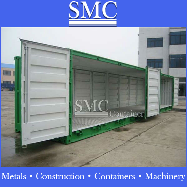 open side door container