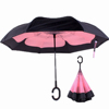 2017 new design invertible reverse umbrella for free hands
