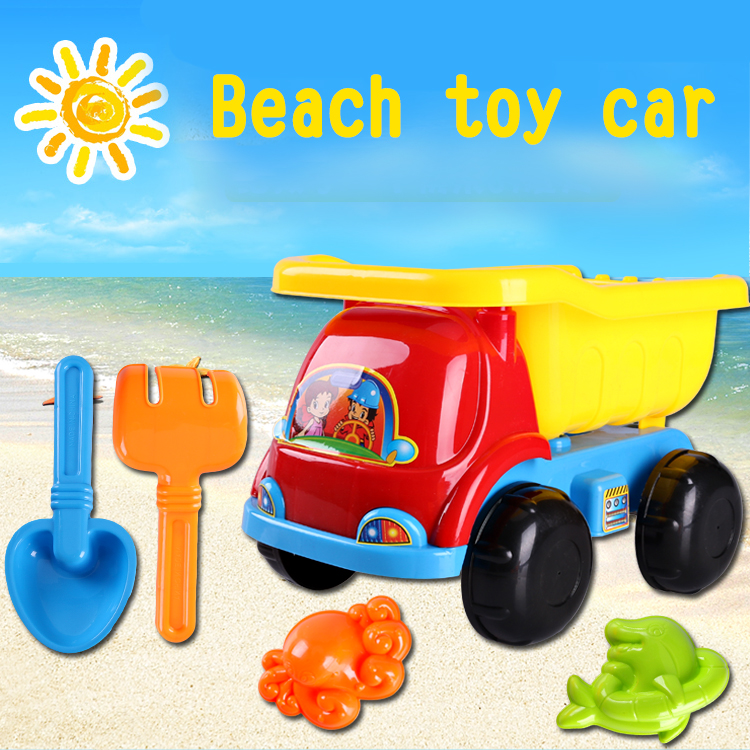 kids beach car set sand beach toys set