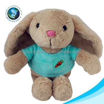 Easter day long ear cute easter plush bunny
