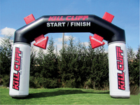 Outdoor event inflatable arch for sport,/wedding,/advertising, inflatable finish line