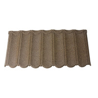 curved color durable solar integrated corrugated steel roof tile