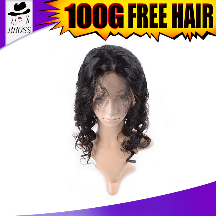 Top grade virgin full thin skin cap human hair lace wigs