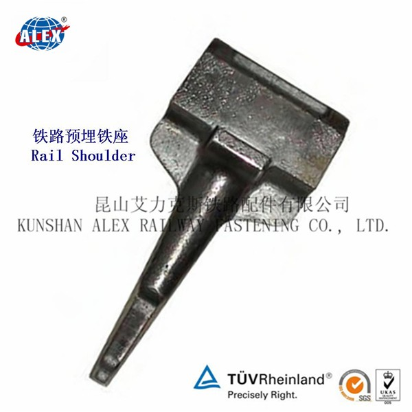 Rail shoulder APC-4 rail anchor in casted