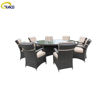 Premium furniture outdoor rattan wicker table and chairs