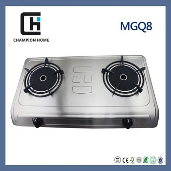 Winter keep warm function stainless steel housing gas cooktop