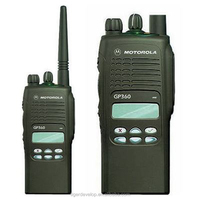 Vhf or uhf handy talky cheap 5w walkie talkie gp360